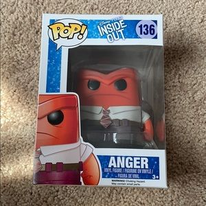 Funko Pop Anger from Disney Pixar Inside Out #136